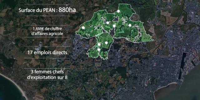 Vue aérienne Communauté de commune Le Péan de l'Immaculée